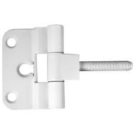 Петля для финских дверей MSM F2 стальная WW Белый