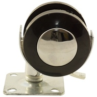 Колесо мебельное КЛ-303 50мм металлическое с фиксатором