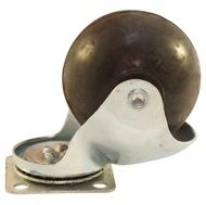 Колесо мебельное КЛ-312 шариковое резиновое 50mm