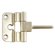 Петля для финских дверей MSM F2 стальная PN Полированнаый никель