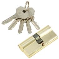 Цилиндровый механизм PLP N70 английский ключ/ключ PB Полированная латунь