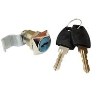 Замок почтовый METALL ZAVOD пластиковый ключ