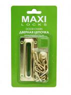 Дверная цепочка MAXI Locks DC-PB Полированная латунь