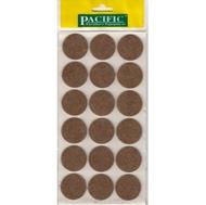 Войлочные накладки круглые PC6135 BR для мебельных ножек 35мм