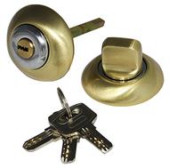 Накладка-фиксатор с ключом СЭНСЭЙ RW1ET SB/CP Матовая латунь/Хром