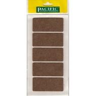 Войлочные накладки квадратные PC6090 BR для мебельных ножек 40*90мм