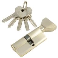 Цилиндровый механизм PLP NW70 английский ключ/вертушка SN Матовый никель