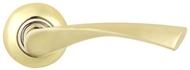 Ручка на розетке MSM R405 PB Полированная латунь