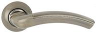 Ручка на розетке MSM R413 AB/CP Бронза/Хром