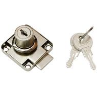 Замок мебельный 138-22 ЗМ-522 Металлический ключ YZ Хром****нет