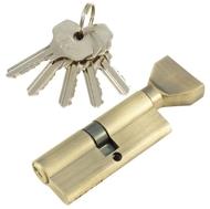 Цилиндровый механизм PLP NW80 английский ключ/вертушка AB Бронза