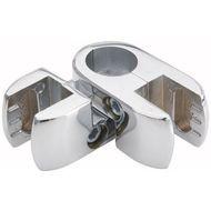 553 Соединитель труба стекло/плита поворотный d25