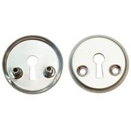Накладка под флажковый ключ для финских дверей 3076 SC Матовый хром
