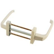 Ручка для пластиковых дверей 007 BHS 1 двухсторонняя WW Белый