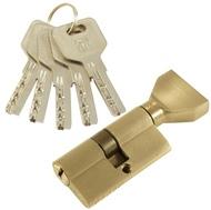 Цилиндровый механизм PLP CW60 перфо.ключ-вертушка SN Матовый никель