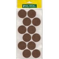 Войлочные накладки круглые PC6140 BR для мебельных ножек 40мм