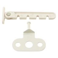 Ограничитель 3060-S для окон Пластиковый Маленький WW Белый