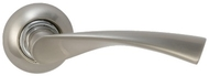 Ручка на розетке DAMX R405 SN Матовый никель
