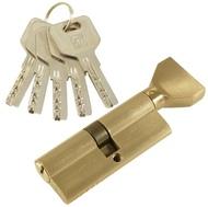 Цилиндровый механизм PLP CW80 перфо.ключ-вертушка SN Матовый никель