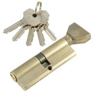 Цилиндровый механизм PLP NW90 английский ключ/вертушка AB Бронза