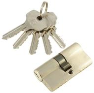 Цилиндровый механизм PLP N60 английский ключ/ключ SN Матовый никель