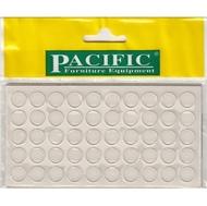 Силиконовый демпфер Pacific PC2850 10*1,6мм прозрачный (50шт/лист)