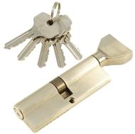 Цилиндровый механизм PLP NW90 английский ключ/вертушка SN Матовый никель