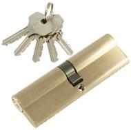 Цилиндровый механизм PLP N100 английский ключ/ключ SN Матовый никель