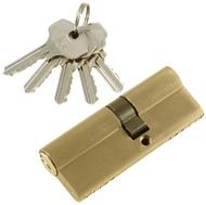 Цилиндровый механизм PLP N45/35 английский ключ/ключ SN Матовый никель