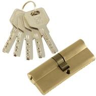 Цилиндровый механизм PLP C80 перфо.ключ-ключ SN Матовый никель