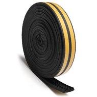 Уплотнитель Е-образный 1м/пог. черный