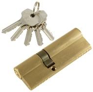 Цилиндровый механизм PLP N55/35 английский ключ/ключ SN Матовый никель