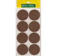 Войлочные накладки круглые PC6155 BR для мебельных ножек 55мм