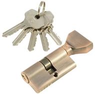 Цилиндровый механизм PLP NW60 английский ключ/вертушка AС Медь