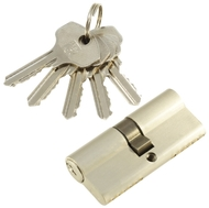 Цилиндровый механизм PLP N70 английский ключ/ключ SN Матовый никель