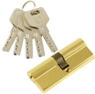 Цилиндровый механизм PLP C80 перфо.ключ-ключ PB Полированная латунь