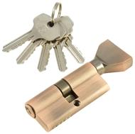 Цилиндровый механизм PLP NW70 английский ключ/вертушка AС Медь