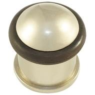 Дверной упор 688-2-40мм SN Матовый никель