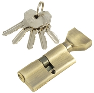 Цилиндровый механизм PLP NW70 английский ключ/вертушка AB Бронза