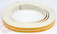 Уплотнитель Е-образный 1м/пог. белый
