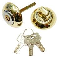 Накладка-фиксатор с ключом СЭНСЭЙ RW1ET PB/CP Полированная латунь/Хром