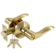 Защелка с ручками СЭНСЭЙ 430 с ключом SN Матовый никель