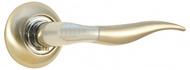 Ручка на розетке СЭНСЭЙ R417 SN/CP Матовый никель/Хром