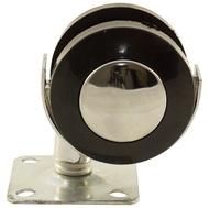 Колесо мебельное КЛ-302 50мм металлическое