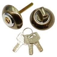 Накладка-фиксатор с ключом СЭНСЭЙ RW1ET AB/CP Бронза/Хром