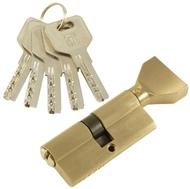 Цилиндровый механизм PLP CW70 перфо.ключ-вертушка SN Матовый никель