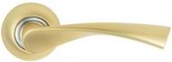 Ручка на розетке MSM R405 SB Матовая латунь